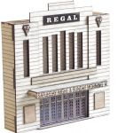 ARCHN0031 Arch Laser N Scale Art Deco Low Relief Cinema Kit